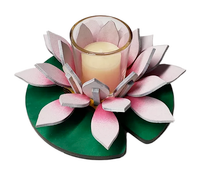 Lotus Lily White Votive