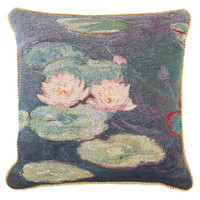Monet Water Lilies Pillowcase