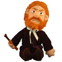 Van Gogh Little Thinker Plush Doll