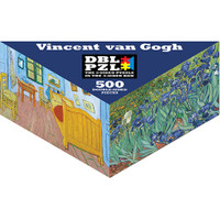Vincent van Gogh 2-Sided Puzzle - 500 Pieces