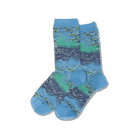 Monet Waterlilies Women's Socks