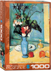 Cezanne, Blue Vase Puzzle - 1000 Pieces