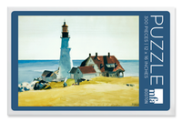 Edward Hopper, Lighthouse and Building Puzzle - 300 Pieces
