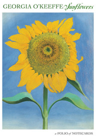 Georgia O'Keeffe: Sunflowers Notecard Folio