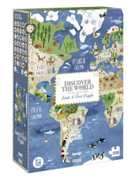 Discover the World Look & Find Puzzle - 200 Pieces