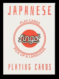 Japanese Lingo Playing Cards