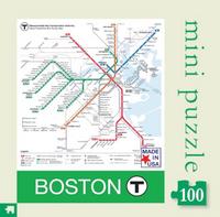 Boston T Mini Puzzle - 100 Pieces
