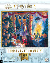 Harry Potter Christmas at Hogwarts Puzzle - 1000 Pieces
