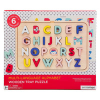 Colorful Wooden Tray Puzzle