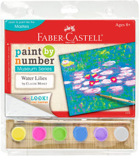 Monet Water Lilies Paint by Number