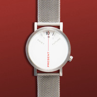 Past, Present & Future Steel Watch