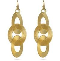 Rihana Flat Link Earring