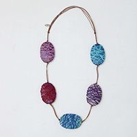 5 Station Wrapped Necklace