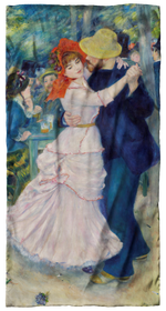 Renoir, Dance at Bougival Scarf