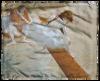 Degas, Dancers Resting Scarf