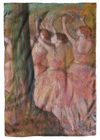 Degas, Dancers in Rose Scarf