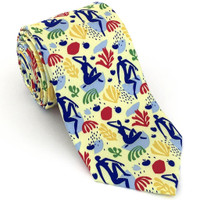 Modern Blues Necktie