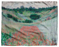 Monet, Poppy Fields Scarf