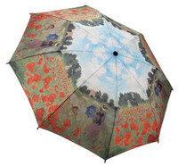 Monet, Poppy Fields Mini Umbrella