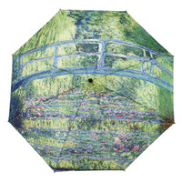 Monet, Japanese Bridge Mini Umbrella