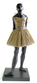 Large Degas Dancer Sculpture