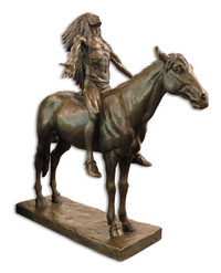 Bronze Appeal to the Great Spirit Sculpture