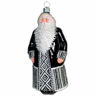 Dazzling Claus Ornament