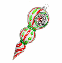 Bedazzling Reflector Ornament