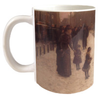 Hassam, Boston Common at Twilight Mug