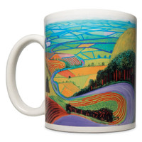 Hockney, Garrowby Hill Mug