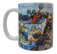 Van Gogh Houses at Auvers Mug