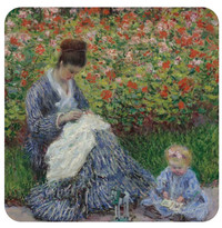 Monet, Camille Monet, and Child Coaster