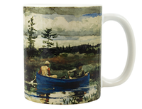 Homer, Blue Boat Mug
