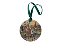 Deer on Chocorua Holiday Ornament