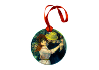Renoir, Dance at Bougival Ornament