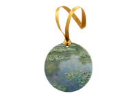 Monet, Water Lilies Ornament