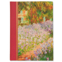 Monet, Garden Irises Journal