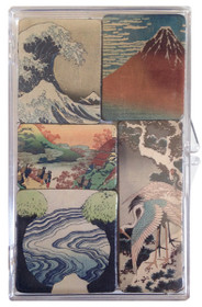 Hokusai Mini Magnet Set/5