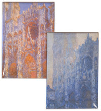 Monet Rouen Cathedral Magnets Set of 2