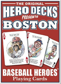 Red Sox Heroes Playing Cards