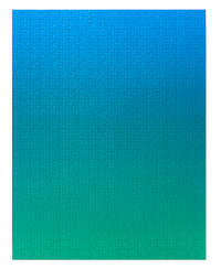 Gradient Blue/Green Puzzle - 500 Pieces