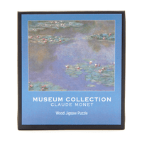 Monet, Water Lilies Micro Wooden Puzzle