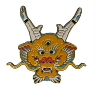 Dragon Head Enamel Pin