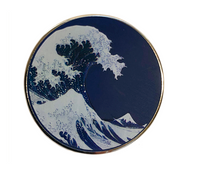 The Wave Enamel Pin