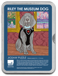 Riley the Museum Dog Puzzle - 100 Pieces