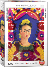 Frida Kahlo, Self-Portrait, The Frame Puzzle - 1000 Pieces