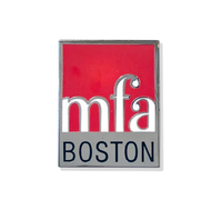 MFA Boston Logo Enamel Pin