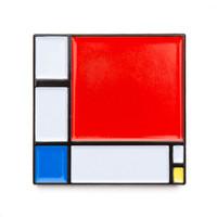 "Piet Mondrian ""Composition II"" Enamel Pin"