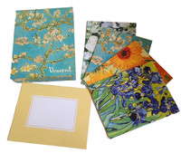 Van Gogh Floral Collection Notecard Box