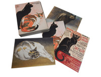 Steinlen's Cats Notecard Wallet
